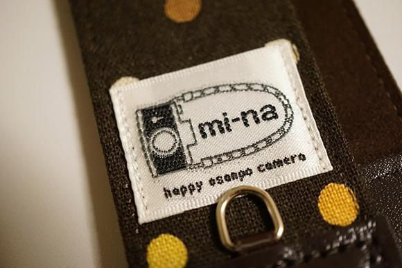 mi-naカメラストラップ